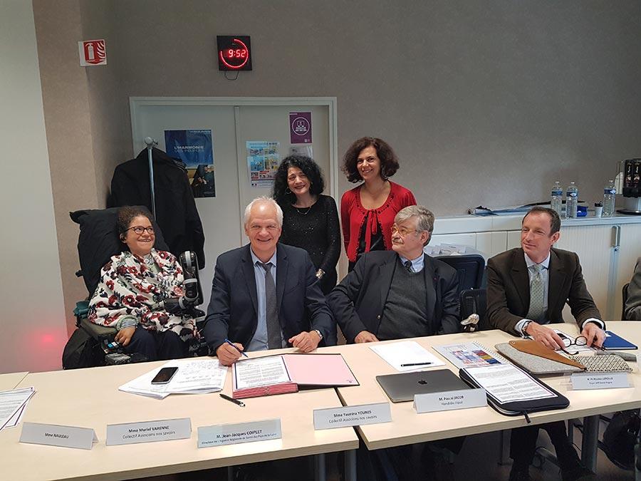 Signature de l'ARS Pays de la Loire – Octobre 2019