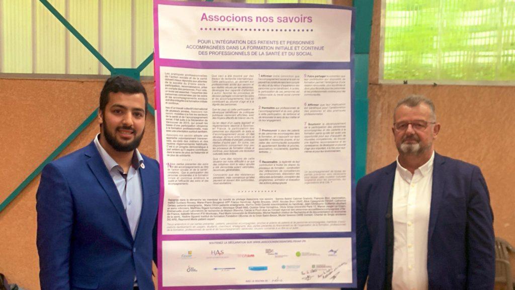 Signature Associons nos Savoirs par la FNESI - Juin 2019