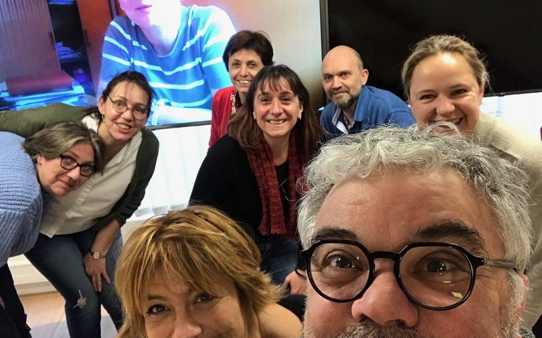 Le copil Associons nos savoirs en réunion joyeuse et productive – Février 2020