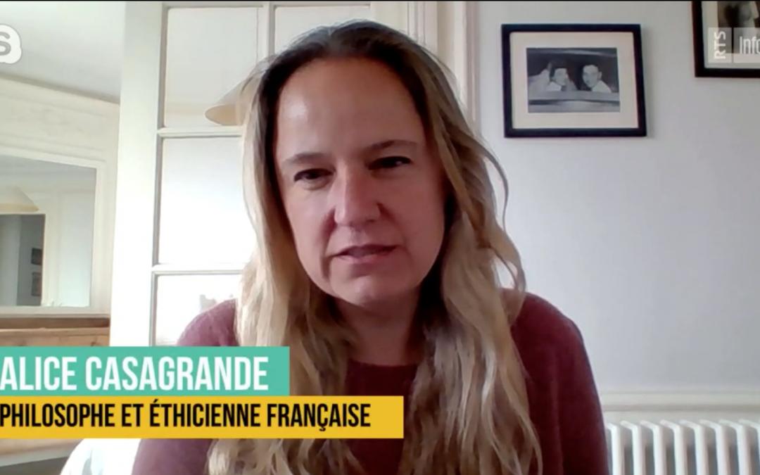 Les acteurs oubliés de la crise du coronavirus : interview d'Alice Casagrande – Mai 2020